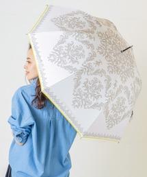 傘 完全遮光晴雨兼用 ジャンプ傘 ダマスク柄 ZOZOTOWN PayPayモール店