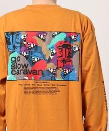 tシャツ Tシャツ go slow caravan/ゴースローキャラバン  スクエアロゴロングスリーブTEE|ZOZOTOWN PayPayモール店