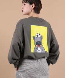 tシャツ Tシャツ 【イラストレーターyuta yunoki × kutir コラボ】アニマルプリントロンT|ZOZOTOWN PayPayモール店
