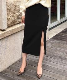 スカート スリットデザインミディアム丈スカート/520054|ZOZOTOWN PayPayモール店