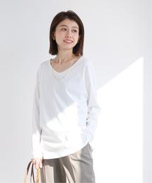 tシャツ Tシャツ 《追加》スムース 2way ネックプルオーバー【手洗い可能】|ZOZOTOWN PayPayモール店