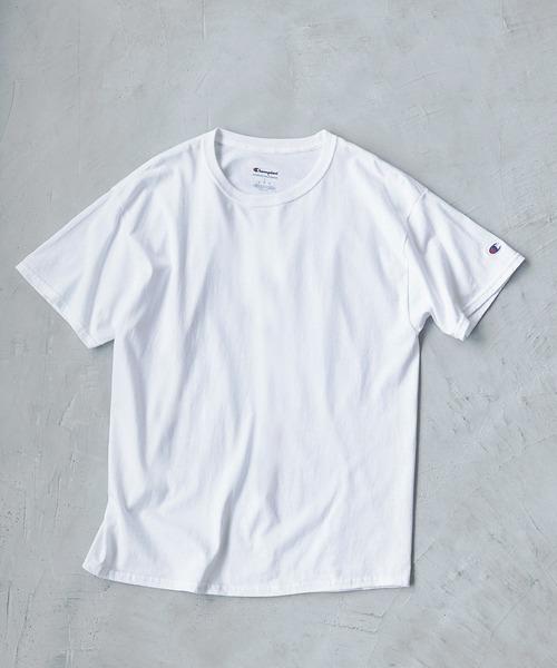お買得 tシャツ Tシャツ Champion Authentic T-SHIRTS チャンピオン 全国どこでも送料無料 2スリーブ 1 コットン