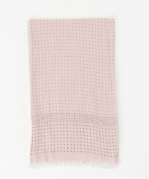 ストール モンロアン mont loin / 綿ガーゼ2重袋縫い ペアードット|ZOZOTOWN PayPayモール店