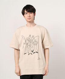 tシャツ Tシャツ andwander × Yu nagaba/アンドワンダー×長場雄 BEAVER別注 fishing printed T by Y|ZOZOTOWN PayPayモール店