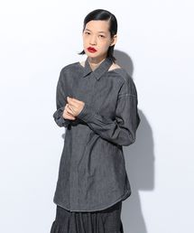 シャツ ブラウス OPEN DENIM SHIRT|ZOZOTOWN PayPayモール店