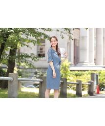 ドレス オールレースベルスリーブタイトひざ丈のワンピースドレス|ZOZOTOWN PayPayモール店