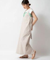 ワンピース ◇【WEB限定カラーあり】リネン混ジャンパースカート|ZOZOTOWN PayPayモール店