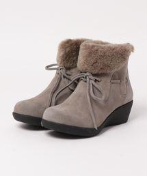 ブーツ ふわふわファー付きショートブーツ ZOZOTOWN PayPayモール店