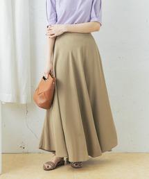 スカート リネン混カラーサーキュラースカート ZOZOTOWN PayPayモール店