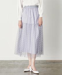 スカート ドットチュールスカート/MARILYN MOON ZOZOTOWN PayPayモール店