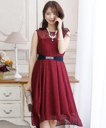 ドレス バックフィッシュテールワンピースドレス大きいサイズミニ丈&ノースリーブ結婚式フォーマル|ZOZOTOWN PayPayモール店