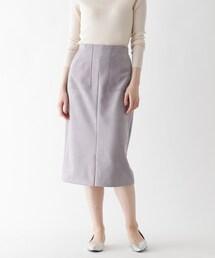 スカート 【大きいサイズあり・13号】ストレッチスエードタイトスカート|ZOZOTOWN PayPayモール店