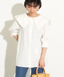 tシャツ Tシャツ BIG襟セーラーブラウス|ZOZOTOWN PayPayモール店