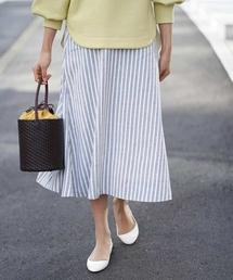 スカート 【洗える】ストライプマーメイドスカート|ZOZOTOWN PayPayモール店