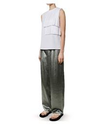 tシャツ Tシャツ Pleat Paste Sleeveless Tops|ZOZOTOWN PayPayモール店
