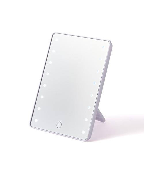 鏡 店 ミラー ルチオ お求めやすく価格改定 ブライトニングミラー ホワイト S