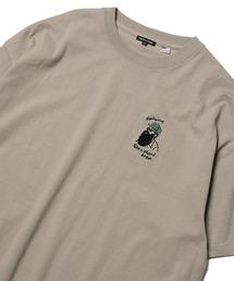 tシャツ Tシャツ WEB限定 ワンポイント刺繍デザイン クルーネックTシャツ ZOZOTOWN PayPayモール店