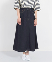 スカート デニム [D.M.G / ディーエムジー] 12ozブルーキャストデニム 5Pオールドスカート|ZOZOTOWN PayPayモール店