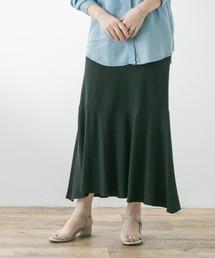 スカート F by ROSSO リネン混マーメイドスカート|ZOZOTOWN PayPayモール店