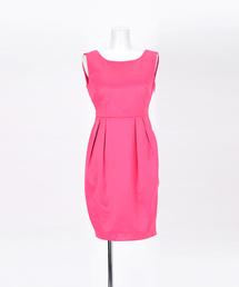ドレス バックリボンサテンミニドレス|ZOZOTOWN PayPayモール店