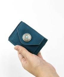 財布 新色発売!コンチョ付き折りたたみミニ財布  [デイ] ZOZOTOWN PayPayモール店