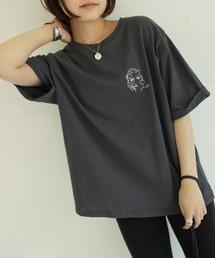 tシャツ Tシャツ アンニュイアートワンポイント刺繍T|ZOZOTOWN PayPayモール店