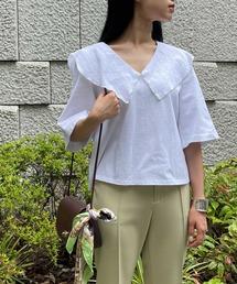 tシャツ Tシャツ セーラーカラーフレアスリーブプルオーバー|ZOZOTOWN PayPayモール店