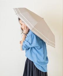 折りたたみ傘 完全遮光晴雨兼用 makez.マケズ 折りたたみ傘 2本ライン ZOZOTOWN PayPayモール店