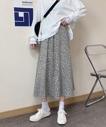 スカート 小花柄ギャザーフレアスカート|ZOZOTOWN PayPayモール店