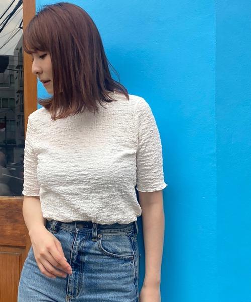 限定モデル tシャツ Tシャツ クシュクシュクレープT 年末年始大決算
