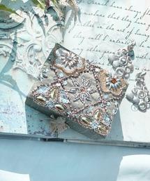 ポーチ 【GIFT】-artipur COTTAGE-ダイヤビーズ刺繍ミニジュエリーボックス ZOZOTOWN PayPayモール店