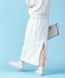 スカート ストライプロングタイトスカート|ZOZOTOWN PayPayモール店
