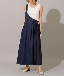 スカート デニム shoulder belt denim skirt ZOZOTOWN PayPayモール店