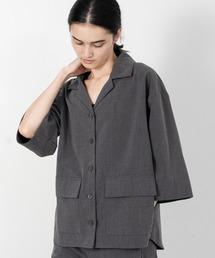 シャツ ブラウス T/Rボリュームスリーブシャツジャケット|ZOZOTOWN PayPayモール店
