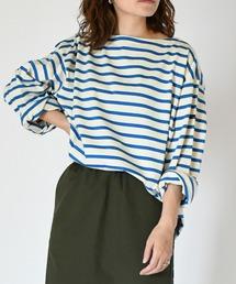 tシャツ Tシャツ 【Le minor×JOHNBULL】ボーダーロングスリーブTシャツ ZOZOTOWN PayPayモール店