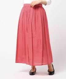スカート シャイニービスコースコットンマキシスカート|ZOZOTOWN PayPayモール店