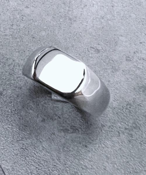 指輪 正規品 14 BURNER SELECT 925シルバー リング 変形デザイン 内祝い フリーサイズ