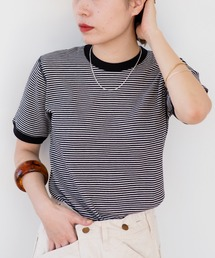 tシャツ Tシャツ Healthknit × BEAMS BOY / ワッフル ボーダー Tシャツ|ZOZOTOWN PayPayモール店