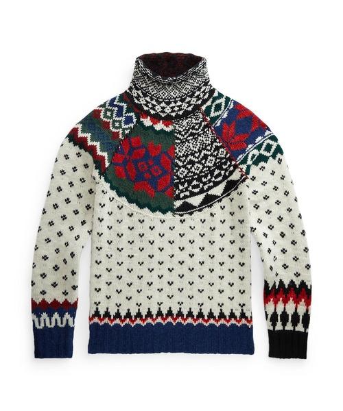 ニット フェア アイル タートルネック セーター|ZOZOTOWN