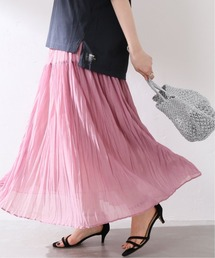 スカート 《追加》シフォンニットワッシャースカート【手洗い可能】◆|ZOZOTOWN PayPayモール店
