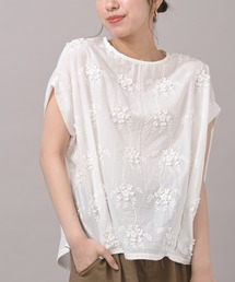 tシャツ Tシャツ 3D刺繍レースプルオーバー|ZOZOTOWN PayPayモール店