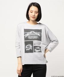 tシャツ Tシャツ H.A.K×BACK TO THE FUTUREコラボ ドルマンカットソー|ZOZOTOWN PayPayモール店