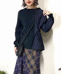 ニット EZUMi(エズミ)別注ナイロンコンビニット|ZOZOTOWN PayPayモール店