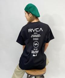 tシャツ Tシャツ 【ZOZOタウン限定アイテム】RVCA/ルーカ   ビッグシルエット  バックプリントTシャツ   BB043-P03|ZOZOTOWN PayPayモール店