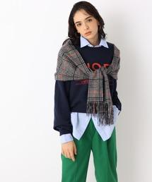 マフラー 【WEB限定】miel(ミエル)カシミヤ100%チェックマフラー|ZOZOTOWN PayPayモール店
