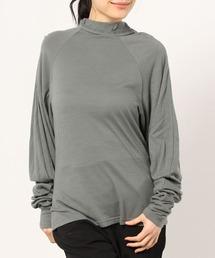 tシャツ Tシャツ WOOL JERSEY SHIRRING TOP|ZOZOTOWN PayPayモール店