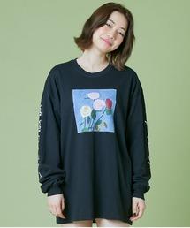 tシャツ Tシャツ LittleSunnyBite/リトルサニーバイト/Charlotte mei x little sunny bite flowe|ZOZOTOWN PayPayモール店