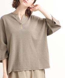 tシャツ Tシャツ M1465 ピグメントサーマルスリットネックTシャツ|ZOZOTOWN PayPayモール店