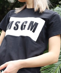 tシャツ Tシャツ MSGM/エムエスジーエム PANEL T-SHIRT 半袖Tシャツ|ZOZOTOWN PayPayモール店