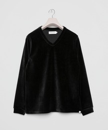 tシャツ Tシャツ Rich Velor Stretch V-neck Longsleve T-shirt|ZOZOTOWN PayPayモール店